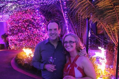 澳一家庭挂50万只圣诞节彩灯破世界纪录(组图)