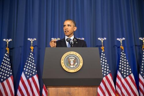 美国白宫总结2013年重大事件 宣传奥巴马政绩