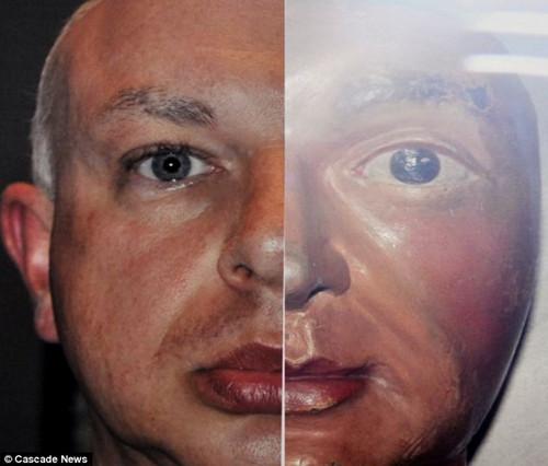 乔恩/乔恩的照片与威廉一世的面具非常契合。...