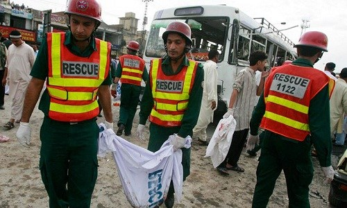 爆炸 巴基斯坦/塔利班宣布对此次爆炸事件负责。