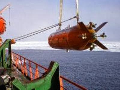"""俄媒:俄罗斯科学家在北极底部发现巨型""""海怪"""""""