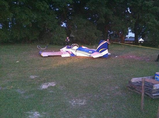 美一飞机参加僵尸电影拍摄时坠毁