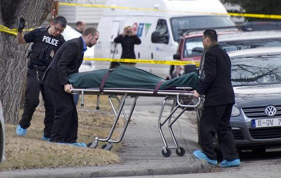 加拿大一校园发生惨案毕业生持刀刺死5人(图)
