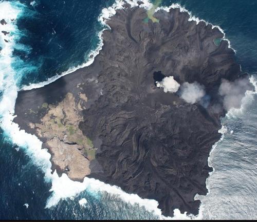 日本西之岛面积扩大3