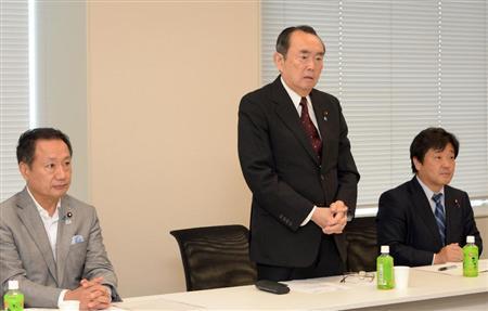 日本维新会分裂石原团体组建新党确定人事任命
