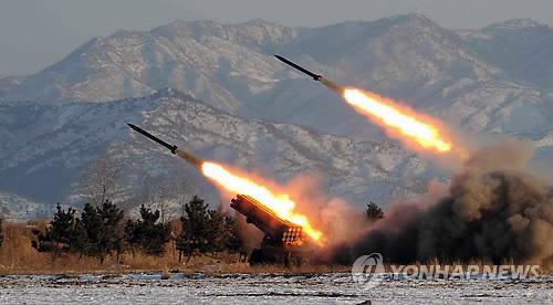 朝鲜向半岛东部海域发射2枚导弹射程500公里