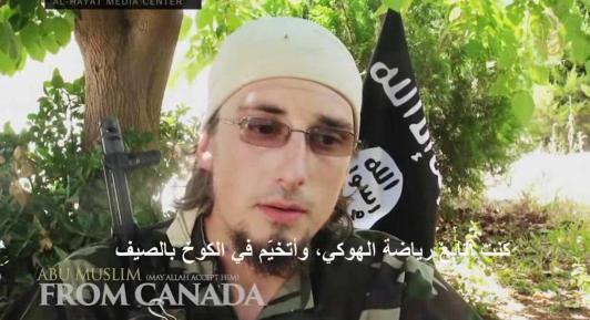 """加拿大男子投身叙内战 吁同胞加入""""圣战""""(图)"""