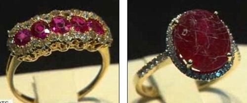 """美正规商场出售""""真品红宝石""""多为廉价玻璃制品"""