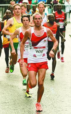男子为健康减肥跑步上瘾成马拉松选手(图)