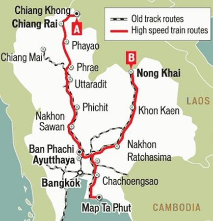 中泰高铁项目获批 有助中国发挥更大经济影响力