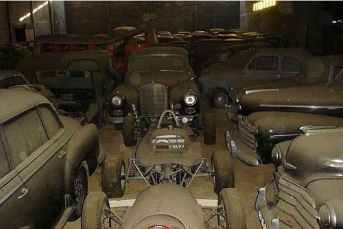 葡萄牙农场仓库惊现大量老爷车 价值数百万英镑