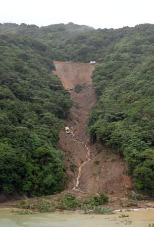 受暴雨影响 日本德岛县一养殖场损失1万只特产鸡
