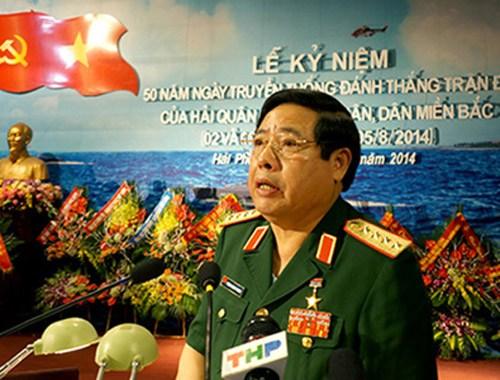 """越南防长:越南海军不可有""""骄兵""""表现"""