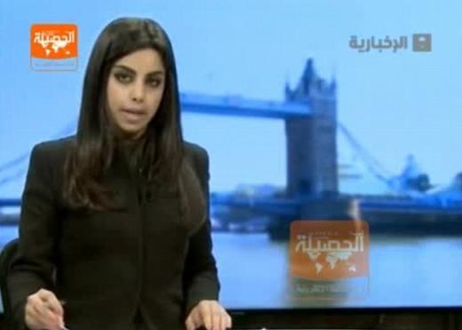 沙特首现未戴头巾女主播视频网上热播(图)