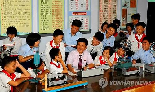 朝鲜实行教育改革 初中生可评价教师工作表现