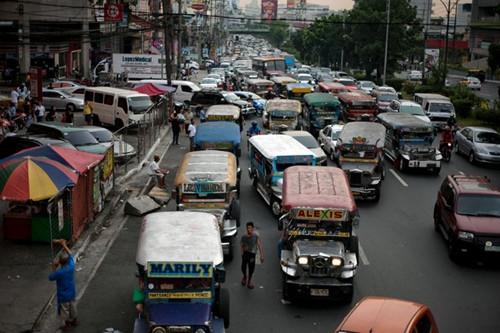 外媒:交通拥堵令菲律宾损失巨大 可借鉴中国经验