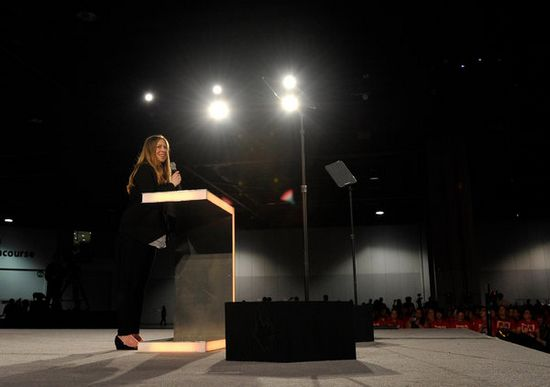 克林顿女儿切尔西辞去NBC工作 为第一胎做准备