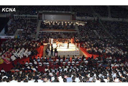 朝媒:平壤摔跤赛闭幕美国选手夸威尼斯游戏的网址幸福