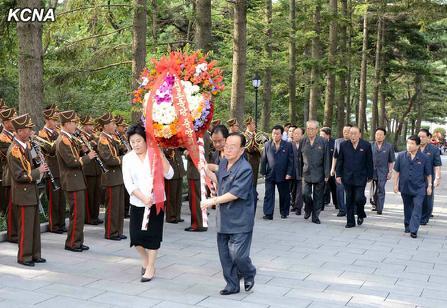 中新网9月2日电 据朝中社报道,在朝鲜前领导人金日成的祖父金辅铉