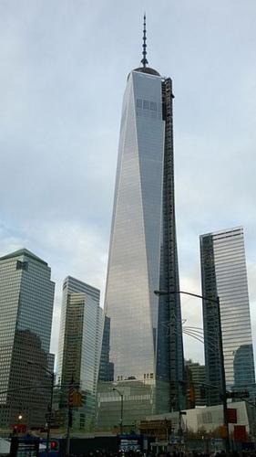 纽约世贸中心一号拟今秋开放 或成地区金融中心