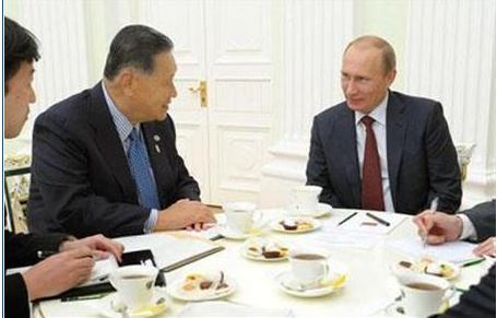 日媒称普京优先安排内政让森喜朗苦等三小时