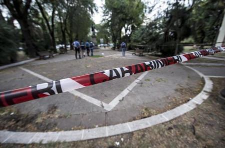 德国男子在罗马持刀袭警 造成多名警员受伤(图)