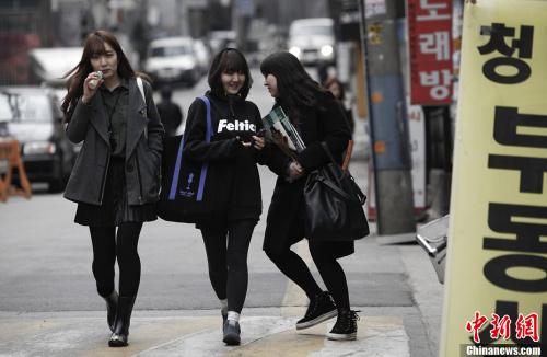 """韩媒称韩国或变""""单身国家""""单身成社会大趋势"""