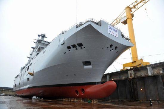 法国再推迟向俄交付航母 称系纯技术原因(图)