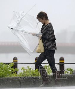 """台风""""黄蜂""""或将纵贯日本 已造成60余人受伤"""