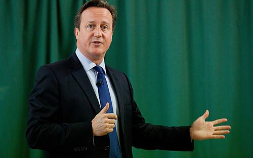 卡梅伦:英国的未来在此次首相大选中岌岌可危