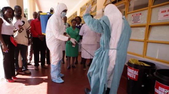 美驻津医疗官员称津巴布韦做好对抗埃博拉准备
