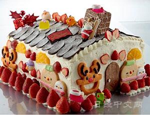 日本商家打响圣诞商战 推豪华蛋糕售价逾3万日元