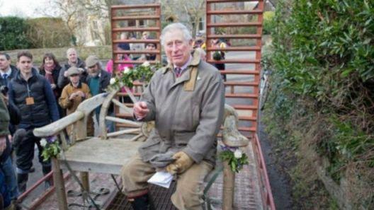 查尔斯王子忧英国乡村未来 促民众珍惜田园风光