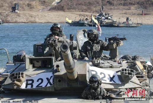 朝媒谴责韩国护国演习 称或导致延坪岛炮击重演