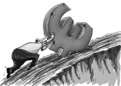 欧元区经济蹒跚前行 德法意核心国家复苏乏力