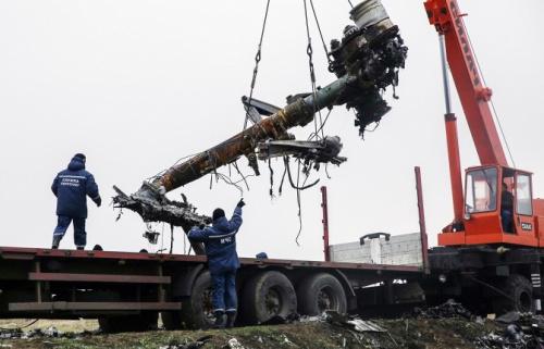 马航MH17残骸将在荷兰进行复原 以确定坠毁原因