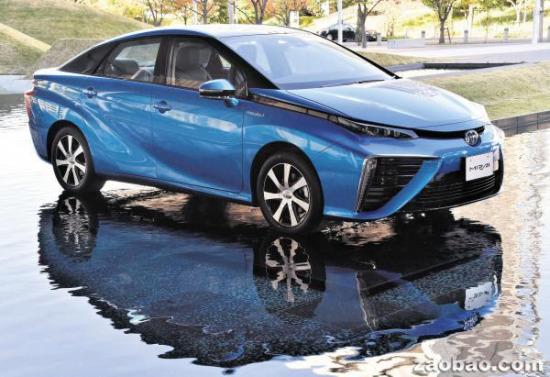 丰田将推电池汽车 只排水分无污染