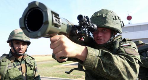 俄国防部:俄罗斯陆军2015年将参加6场国际军演
