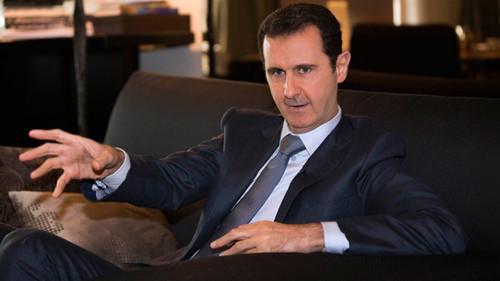 """叙总统反驳扶植""""伊斯兰国"""":恐怖分子来自西方"""