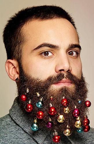 澳大利亚圣诞饰品别出心裁胡子装饰球风靡全国