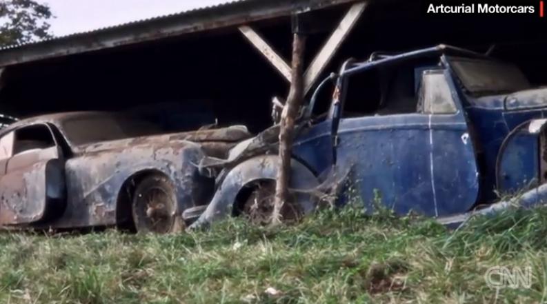 幸运男子发现60辆废旧老爷车价值140万美元(图)
