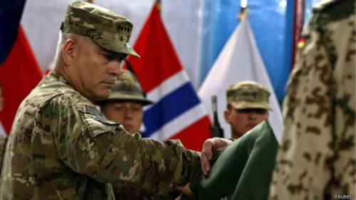 """北约撤军阿富汗 塔利班称北约被其""""击败""""(图)"""