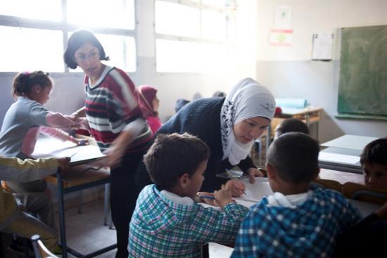 儿基会:叙学校仍是武装攻击目标 儿童教育受干扰