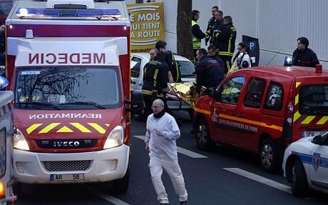 法国再发枪案与杂志社袭击无关 内政部长赴现场