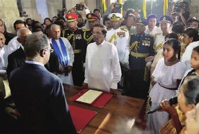 斯里兰卡新总统欲与印度修好 多国争夺在斯影响力