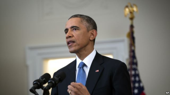 奥巴马和卡梅伦联名发表文章 誓要遏制极端主义
