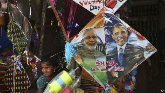 奥巴马将访印度 美媒看好美印战略防务合作势头