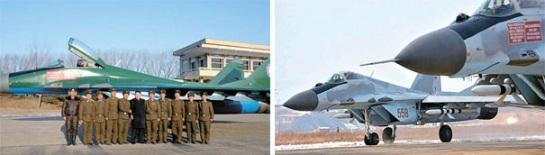 韩媒称朝鲜更换战机颜色或为空战迷惑对手(希冀)