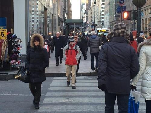 纽约持续受北极寒流影响 打破60余年来最低温纪录