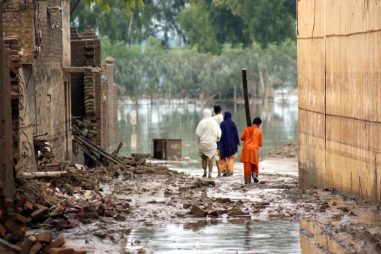 """""""联合国:气候变化将进一步加紧洪水风暴等灾害"""